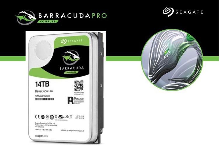 Жёсткий диск Seagate BarraCuda Pro на 14 Тбайт оценён в $580