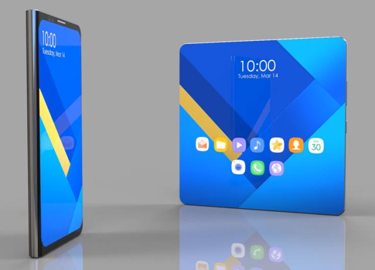 Складной смартфон Samsung получит дактилоскопический датчик в экране - 1