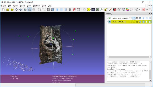 AliceVision: фотограмметрия из командной строки - 12