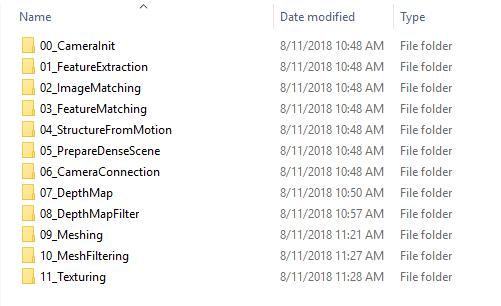 AliceVision: фотограмметрия из командной строки - 3
