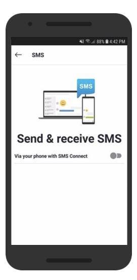 Microsoft тестирует SMS-сервис для Skype на Android - 1