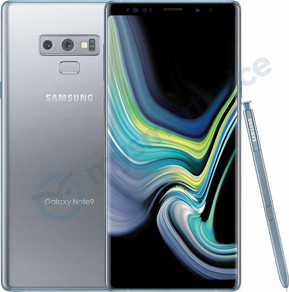 Для смартфона Samsung Galaxy Note9 готов новый цвет - 1