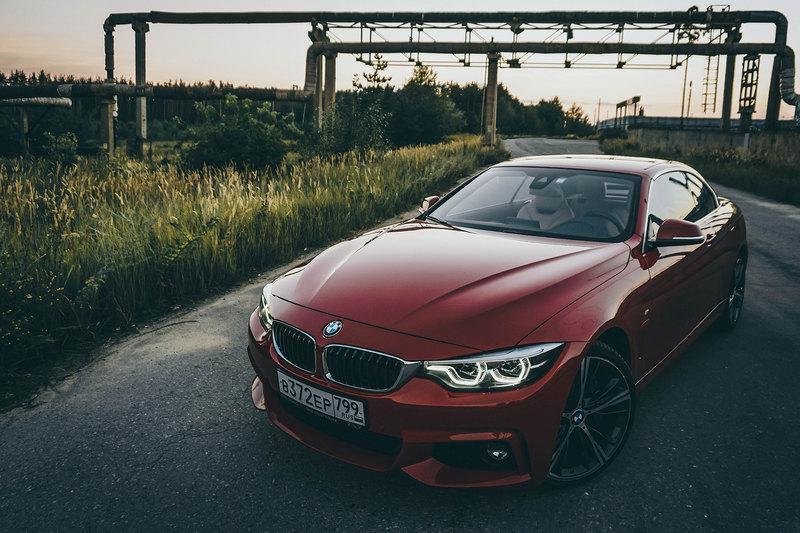 Голова в облаках: тест BMW 430i Cabrio