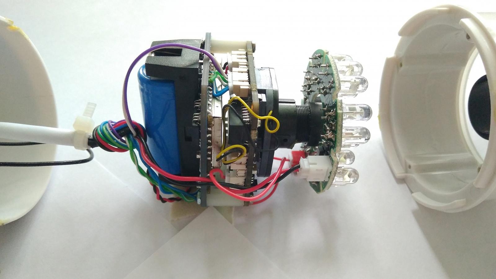 Как мы сделали малогабаритный облачный видеорегистратор из обычной IP камеры - 38
