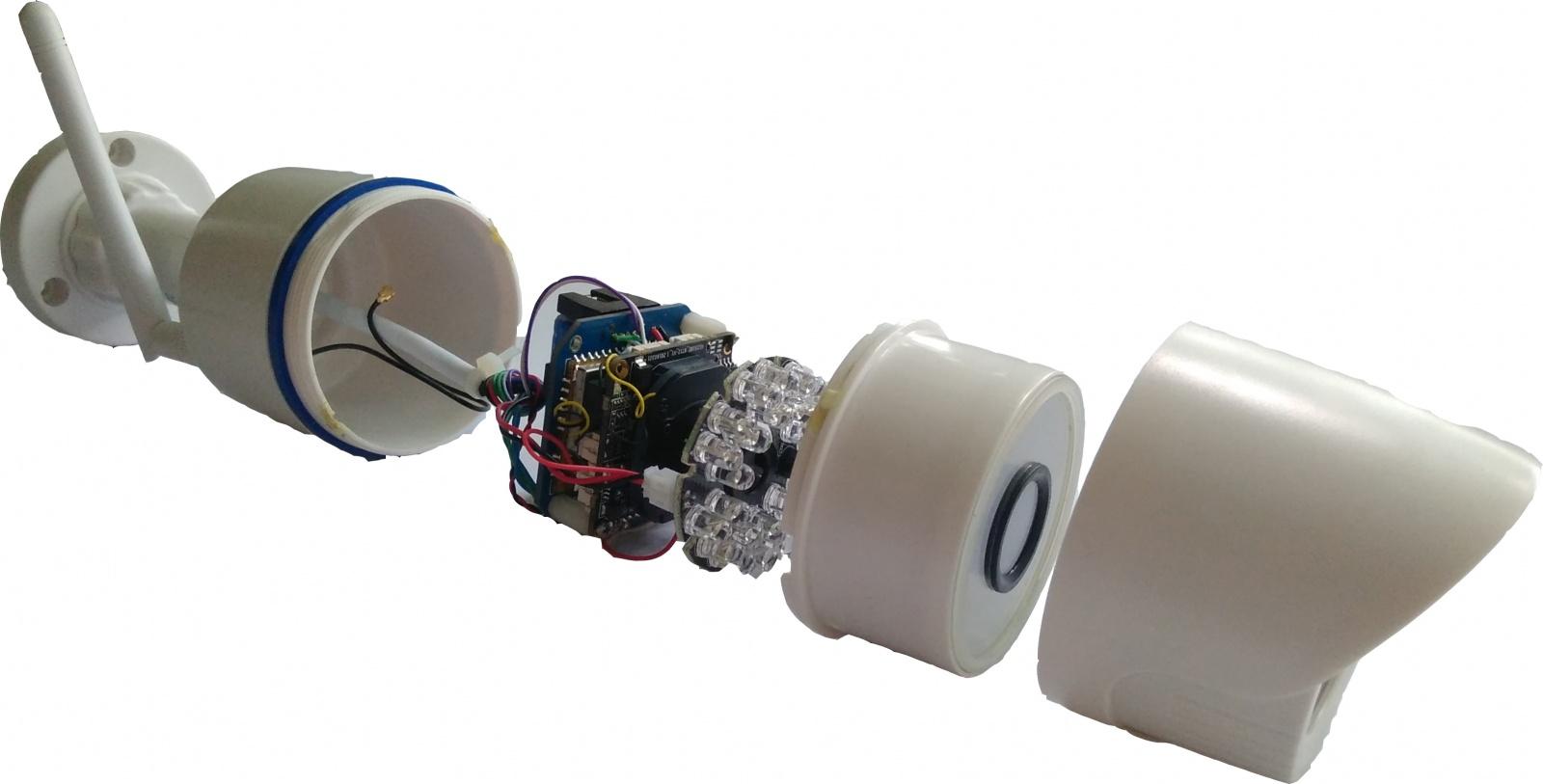 Как мы сделали малогабаритный облачный видеорегистратор из обычной IP камеры - 1