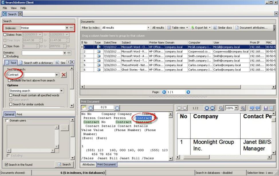 КИБ «SearchInform» как рабочий инструмент аналитика или «Бойтесь данайцев, дары приносящих» - 1
