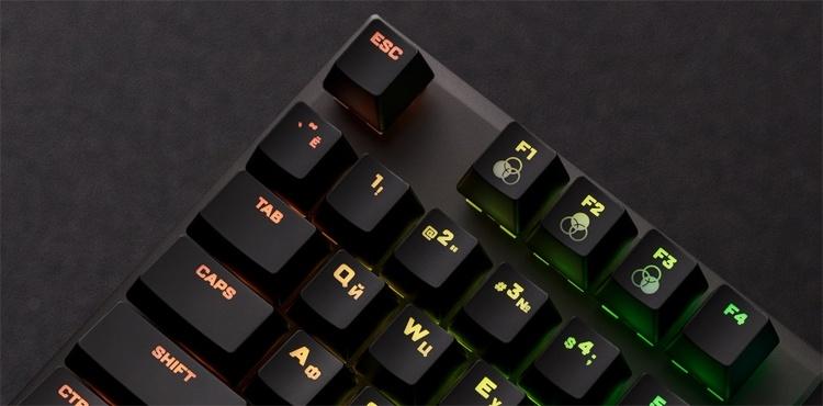 Механическая клавиатура HyperX Alloy FPS RGB стоит 0