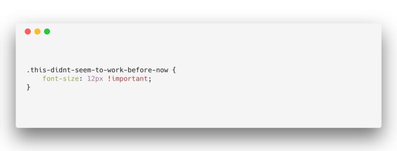 Плохой, зато свой: как написать по-настоящему ужасный CSS - 6