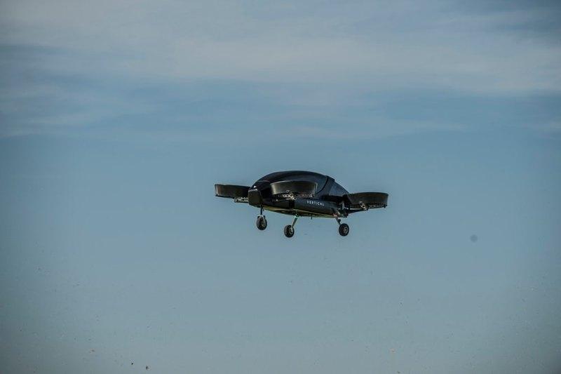 Прототип аэротакси Vertical Aerospace выполнил первый полет