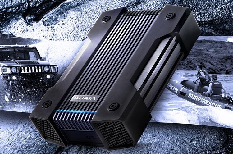 ADATA HD830: «неубиваемый» жёсткий диск ёмкостью до 5 Тбайт