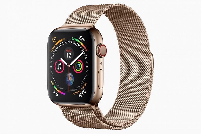 Умные часы Apple Watch Series 4 появились в предзаказе - 1