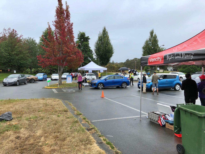Тест-драйв VW e-Golf, Nissan Leaf и Tesla Model 3 - 1