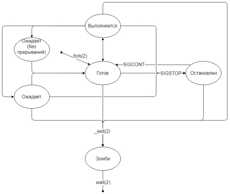 Изучаем процессы в Linux - 2