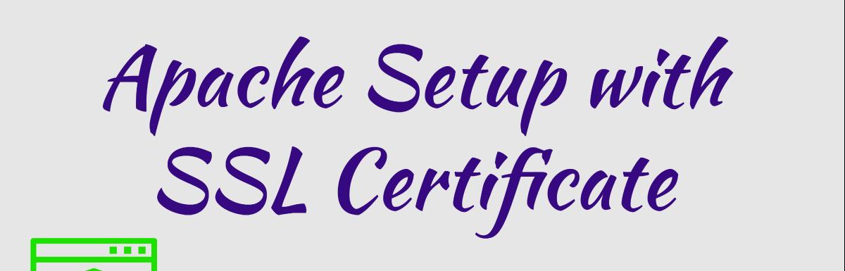 Как настроить Apache HTTP с SSL-сертификатом - 1