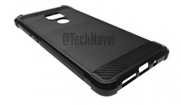 Чехол для Huawei Mate 20 подтверждает конфигурацию камеры и наличие разъема 3,5 мм