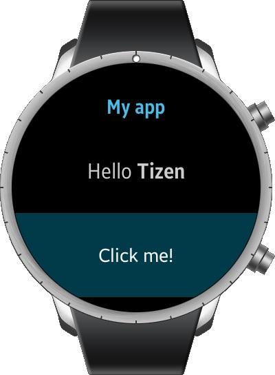 Пишем первое приложение для Samsung Smart Watch и OS Tizen - 9