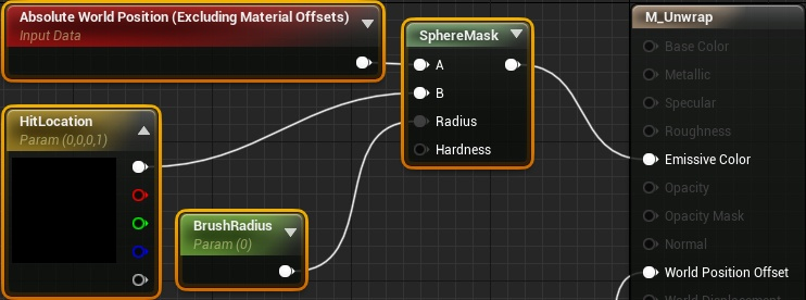 Динамическое рисование по мешу в Unreal Engine 4 - 11