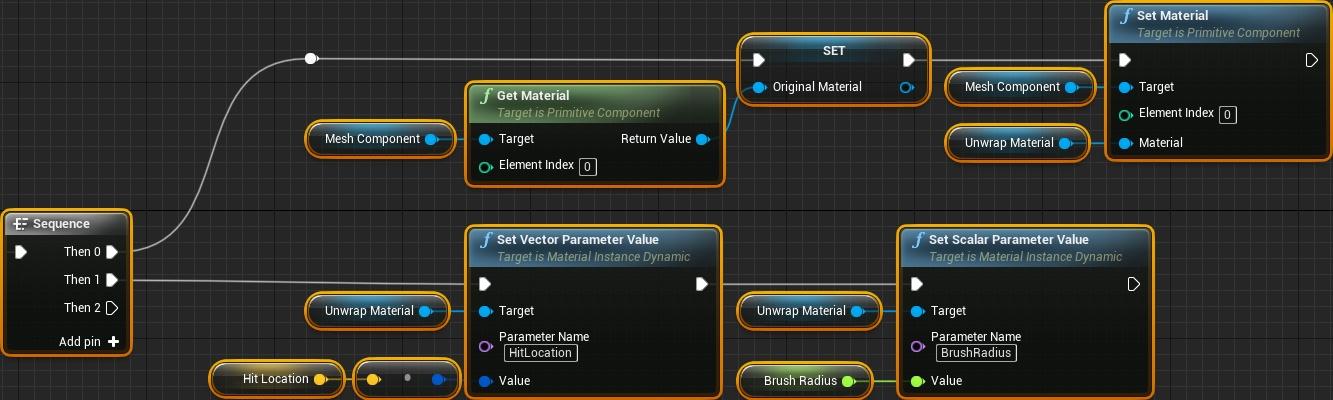 Динамическое рисование по мешу в Unreal Engine 4 - 15