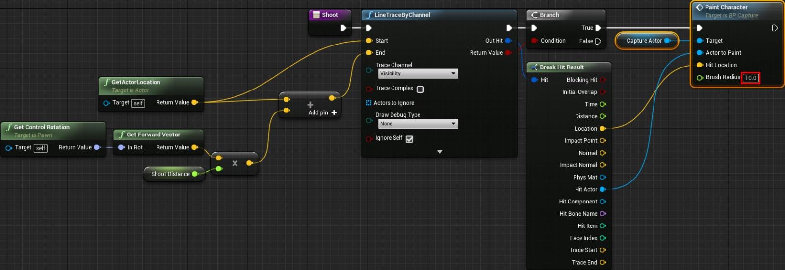 Динамическое рисование по мешу в Unreal Engine 4 - 16