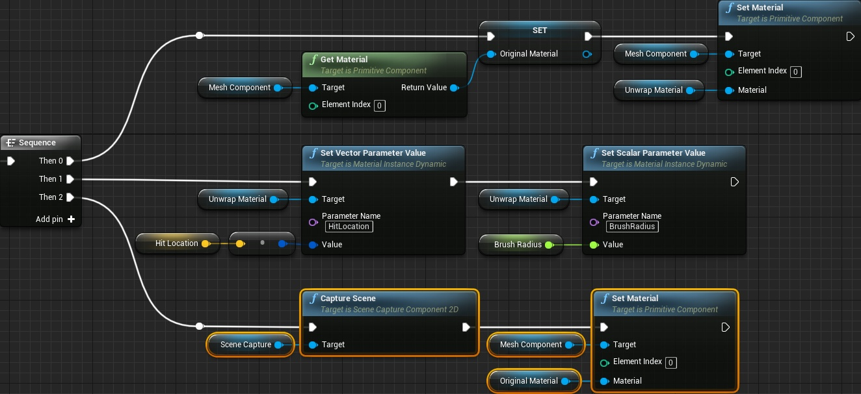Динамическое рисование по мешу в Unreal Engine 4 - 21