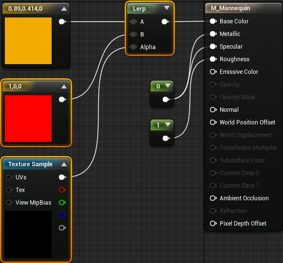 Динамическое рисование по мешу в Unreal Engine 4 - 23