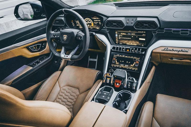 Бессонница: тест Lamborghini Urus