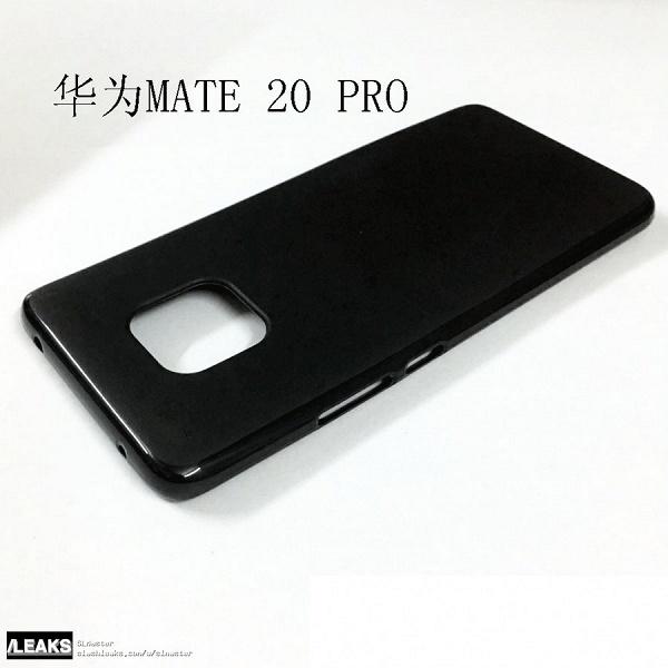 Живые фото чехлов флагманского камерофона Huawei Mate 20 Pro подтверждают
