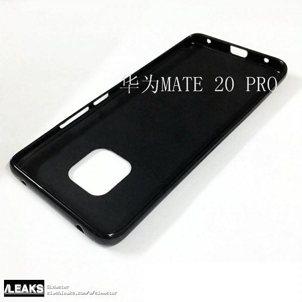 Живые фото чехлов флагманского камерофона Huawei Mate 20 Pro