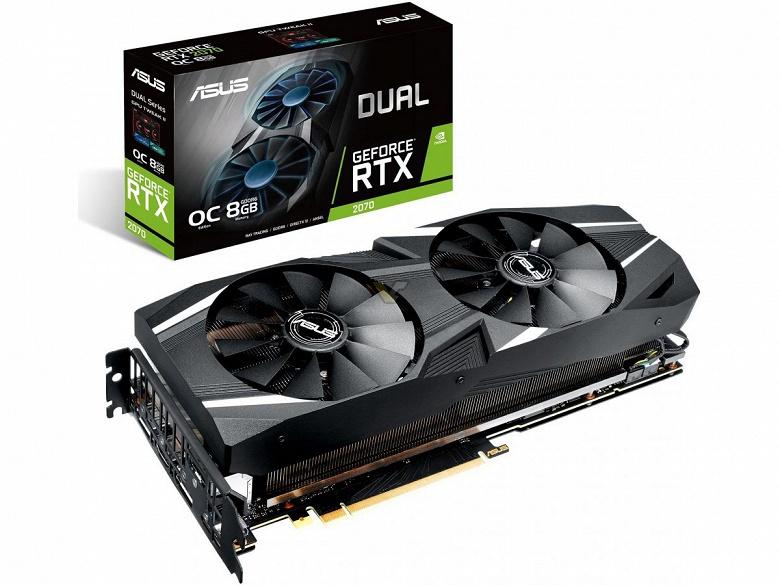На плате Asus GeForce RTX 2070 Dual есть рудимент разъема NVLink