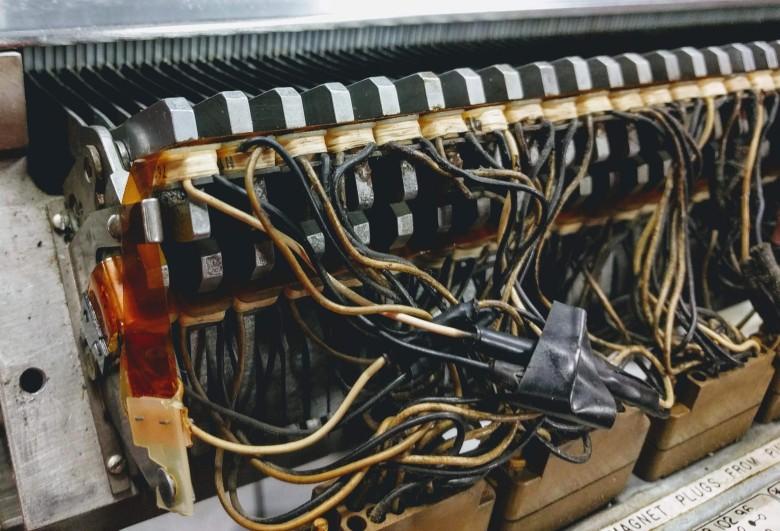 Ремонт принтера от мейнфрейма IBM 1401 эпохи 60-х - 7