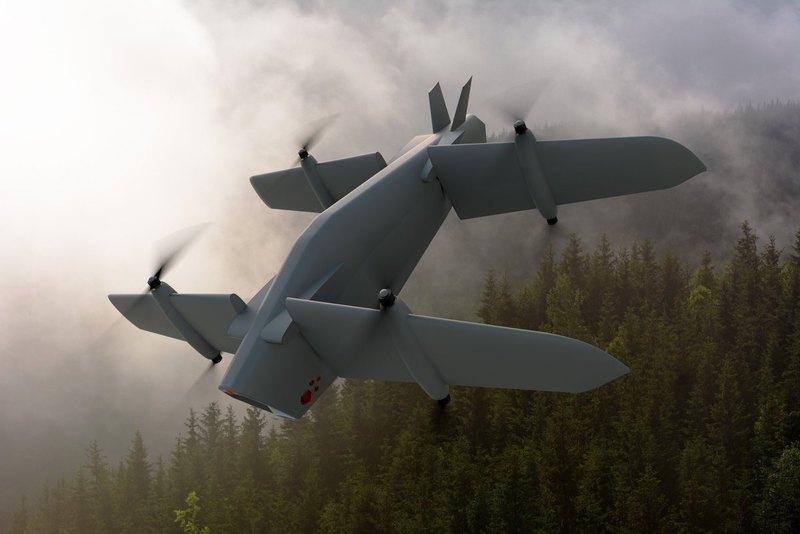 Британская компания представила необычный боевой беспилотник