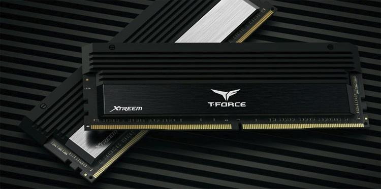 Частота новых модулей памяти T-Force Xtreem достигает 4500 МГц
