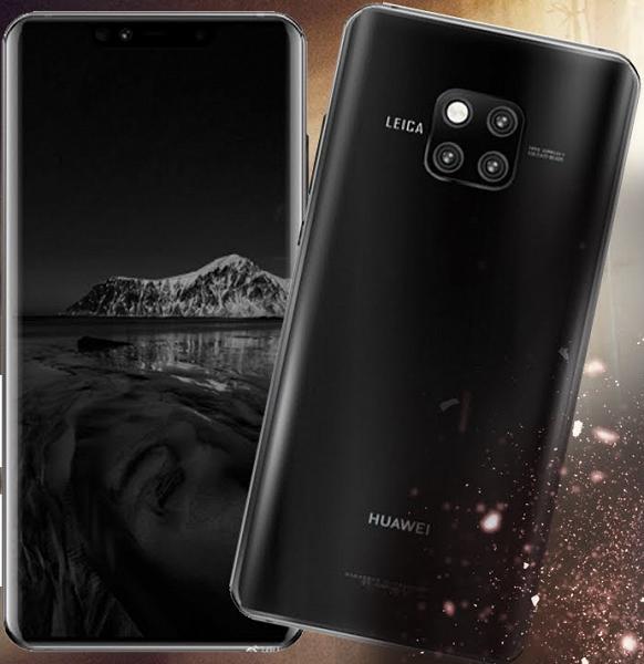 Флагманский камерофон Huawei Mate 20 Pro удивит режимами видео-боке, AI Zoom, AI Cinema и подводным