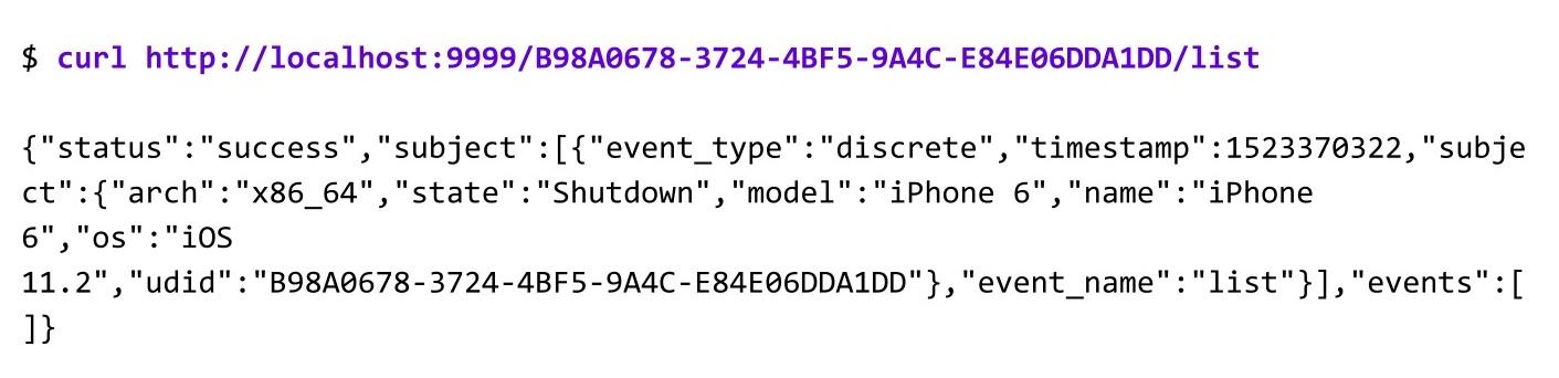 Когда нужны скорость и масштабирование: сервер распределенных iOS-устройств - 13