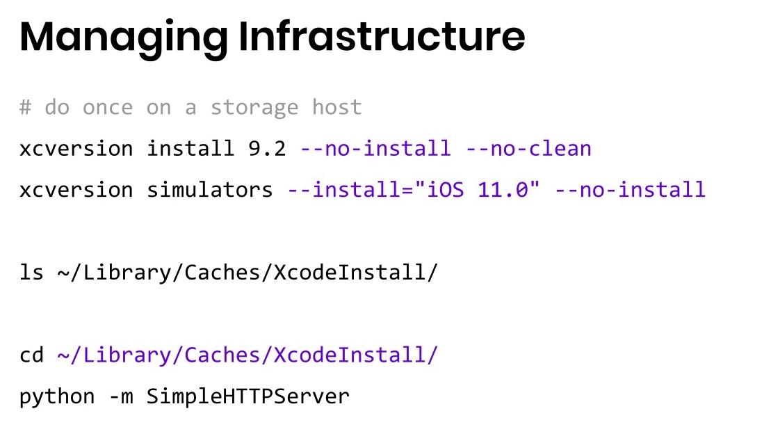 Когда нужны скорость и масштабирование: сервер распределенных iOS-устройств - 30