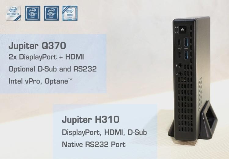 Неттоп ASRock Jupiter оснащён процессором Intel Coffee Lake