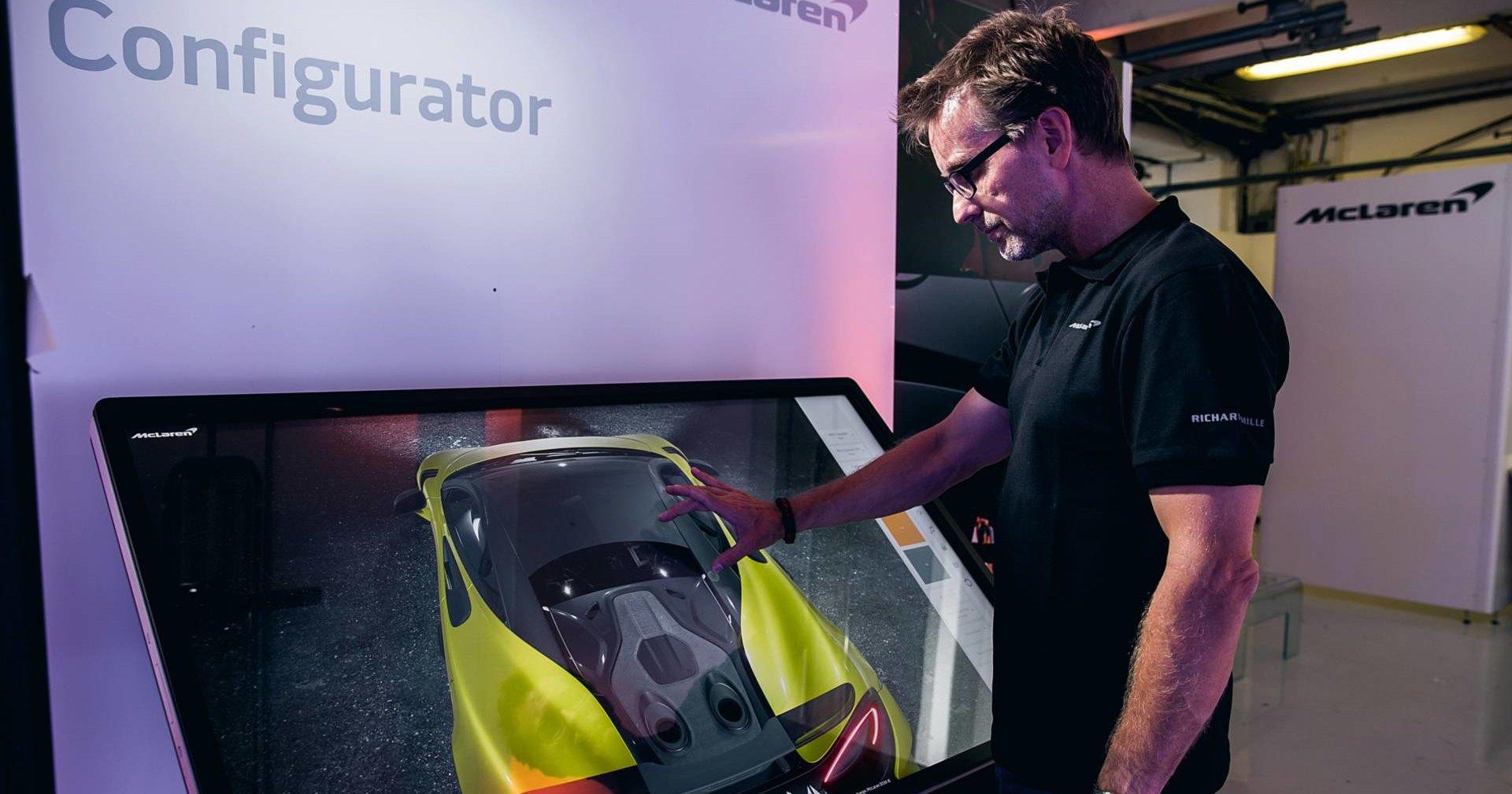 McLaren сделал 3D-конфигуратор с разрешением 4К
