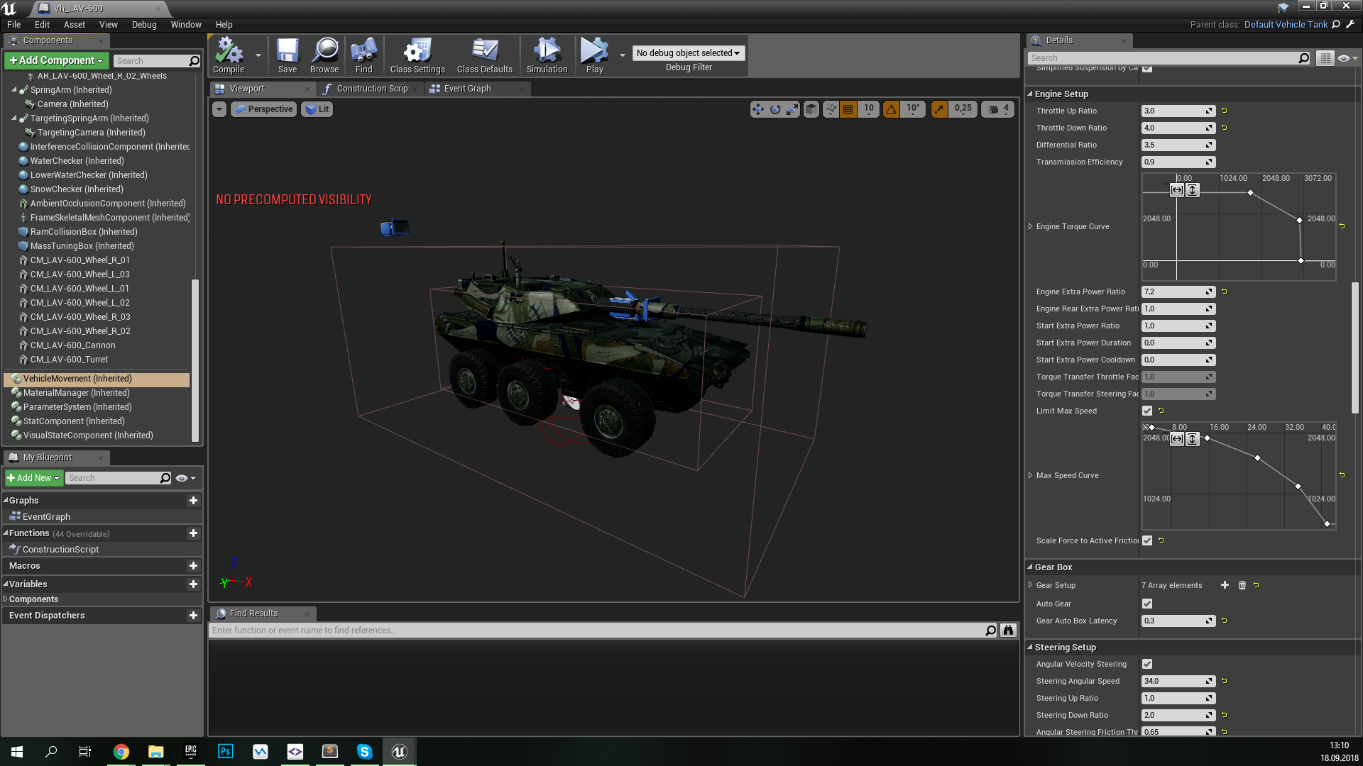 PsRealVehicle, или Open Source-плагин физики танков в Armored Warfare: Assault - 2