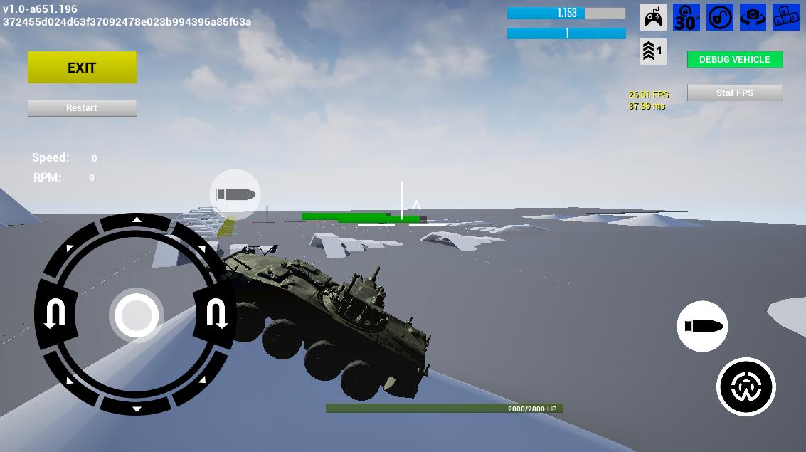 PsRealVehicle, или Open Source-плагин физики танков в Armored Warfare: Assault - 4