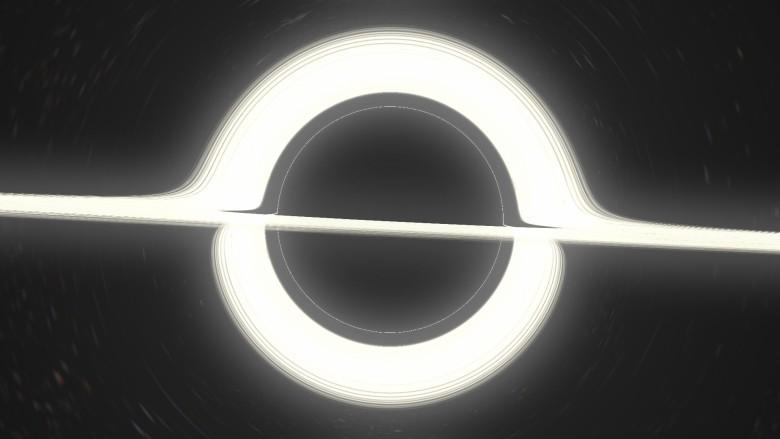 Как нарисовать чёрную дыру. Геодезическая трассировка лучей в искривлённом пространстве-времени - 19