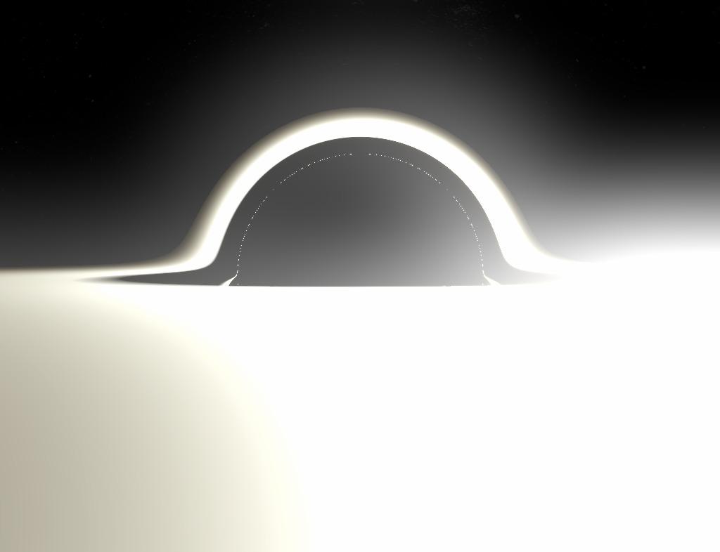 Как нарисовать чёрную дыру. Геодезическая трассировка лучей в искривлённом пространстве-времени - 32