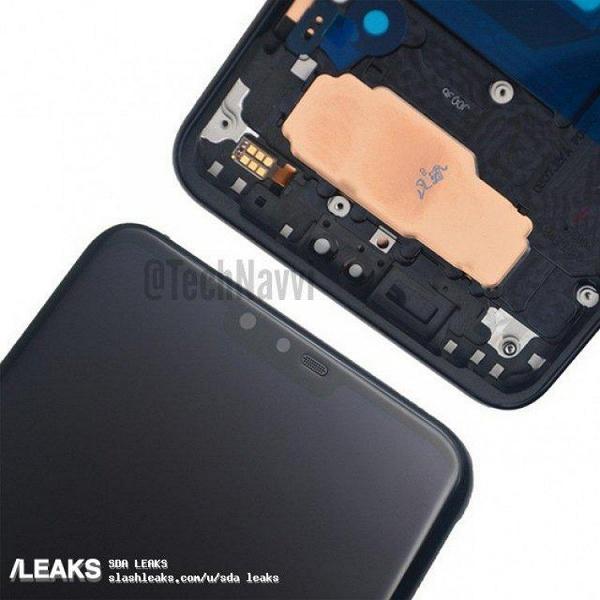 Новая порция данных о смартфоне LG V40 указывает на наличие выреза, отсутствие тройной основной камеры и большой экран