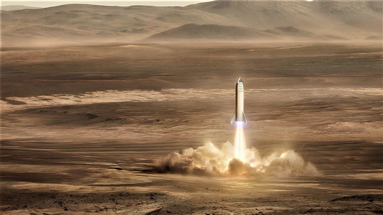 Опубликовано изображение базы на Марсе