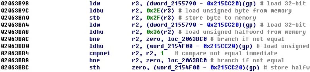 Разрабатываем процессорный модуль NIOS II для IDA Pro - 33