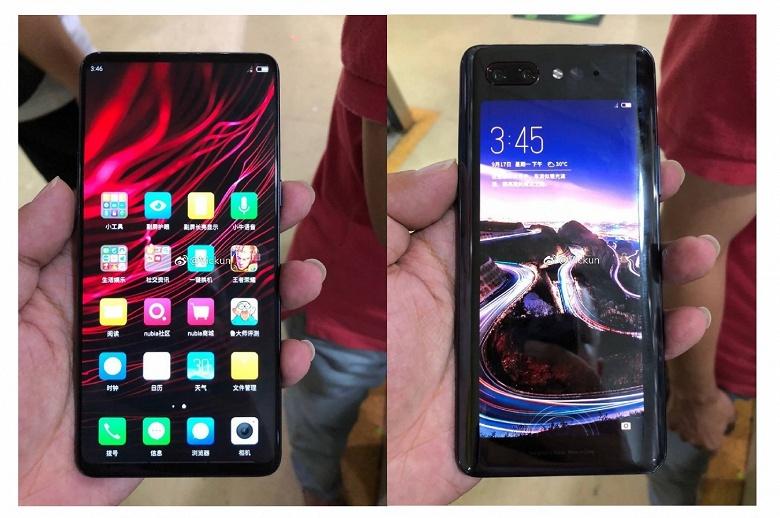 Смартфон ZTE Nubia Z18s получит основной экран IPS и дополнительный дисплей OLED