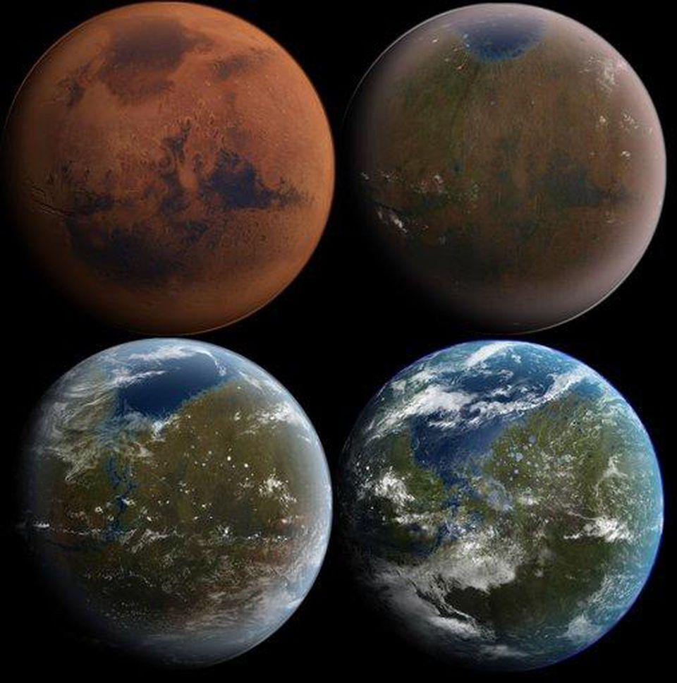 NASA знает как вновь сделать Марс зелёным - 1