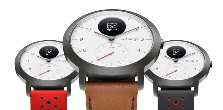 Withings Steel HR Sport: гибридные смарт-часы с большим временем автономной работы