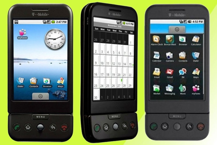 Первому Android-смартфону исполнилось 10 лет