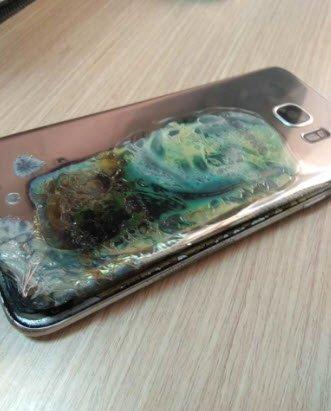 Новенький Samsung Galaxy S9 в обмен на сгоревший негарантийный Samsung Galaxy S7 Edge