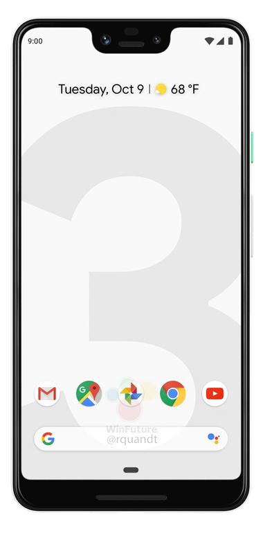 Google Pixel 3 и Pixel 3 XL: официальные рендеры и новая информация